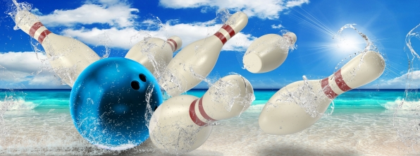 Beach Strike - Bowling Alley Design