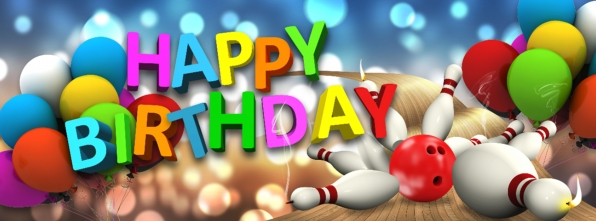 Happy Birthday - Bowling Alley Design