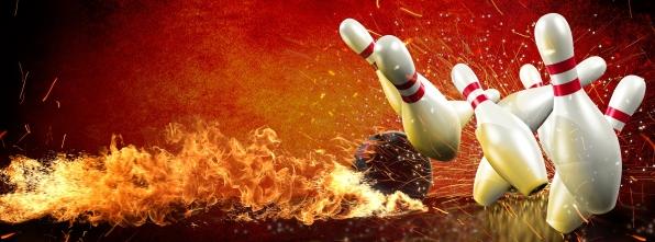 Inferno Strike - Bowling Alley Design