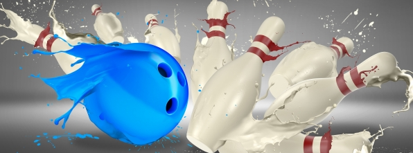 Paint Bowl - Bowling Alley Design