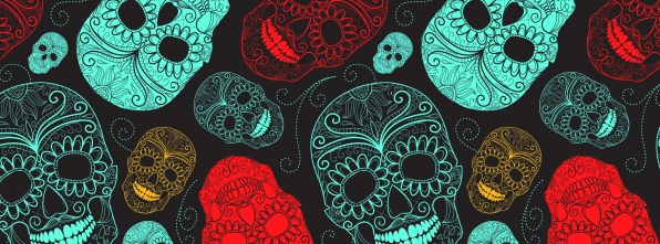 Sugar Skulls - Bowling Alley Design