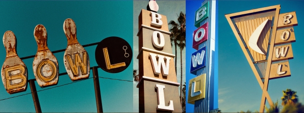 Bowl Signs - Bowling Alley Design