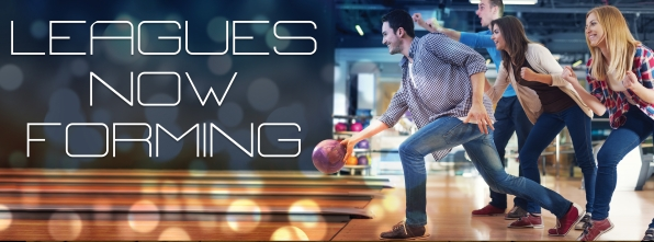 Leagues Now Forming (1) - Bowling Alley Design