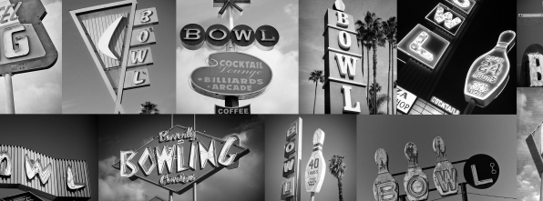 Signs - Bowling Alley Design