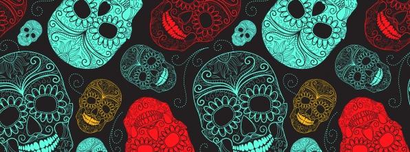 Sugar Skulls - Bowling Alley Design