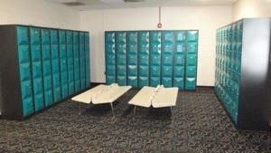 Bowling lockers
