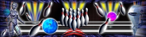 Bowling alley masking designs