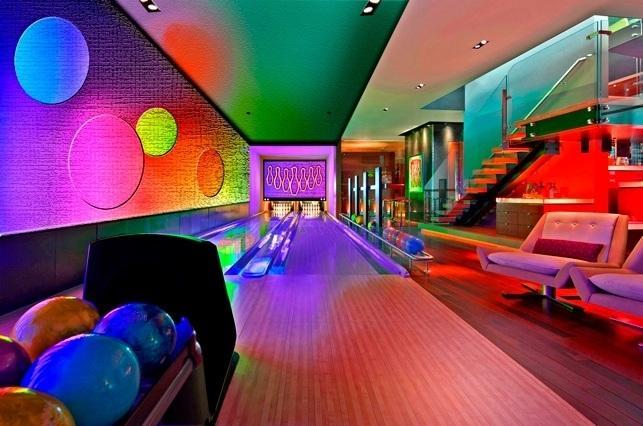 home bowling lanes