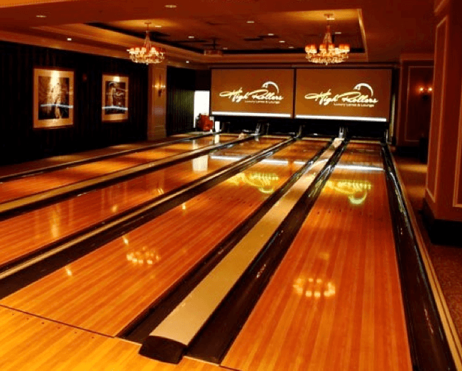 home and residential bowling alley's by Murrey International