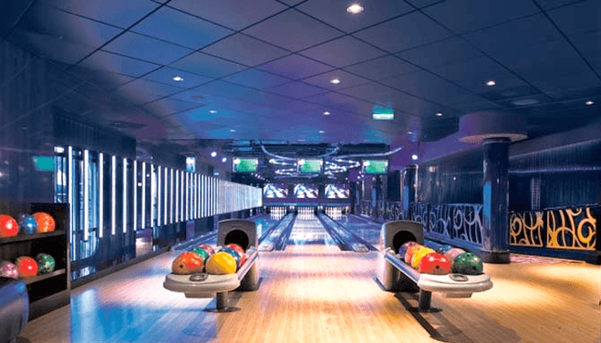residential bowling alley installation and construction