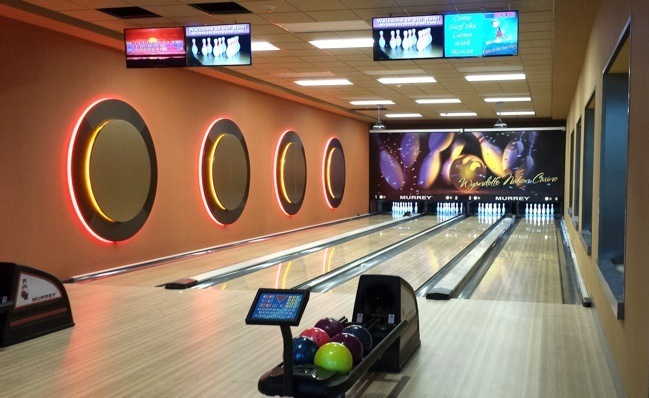 Residential bowling alley builder